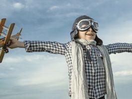 Flying Love Joy Freedom